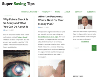 supersavingtips.com screenshot