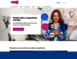 supersavvyme.co.uk screenshot