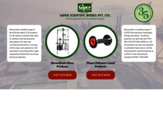 superscientific.com screenshot
