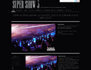 supershow3.wordpress.com screenshot