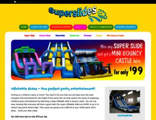 superslides.co.nz screenshot