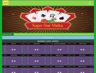 superstarmatka.com screenshot
