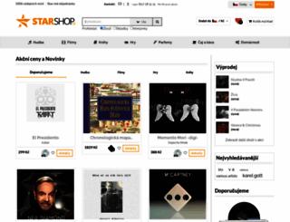 superstarshop.cz screenshot