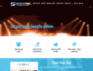 superstartunes.com screenshot