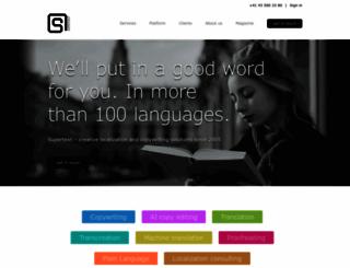 supertext.ch screenshot