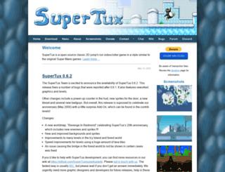 supertux.lethargik.org screenshot