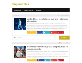 supervirales.com screenshot