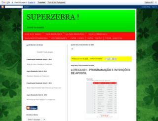superzebradaloteca.blogspot.com.br screenshot