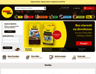 superzoo.cz screenshot