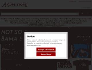 supestore.ua.edu screenshot