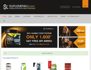 suplemenku.com screenshot