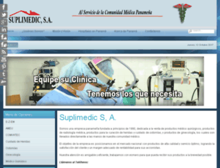 suplimedic.com.pa screenshot