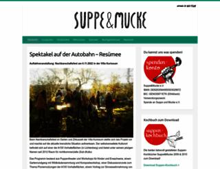 suppeundmucke.de screenshot