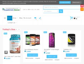 supplementbazzar.com screenshot
