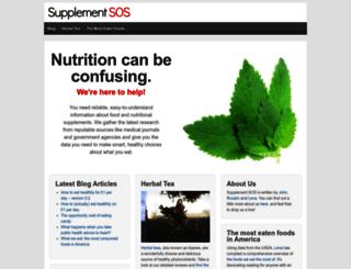supplementsos.com screenshot