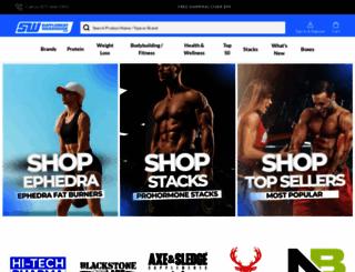 supplementwarehouse.com screenshot