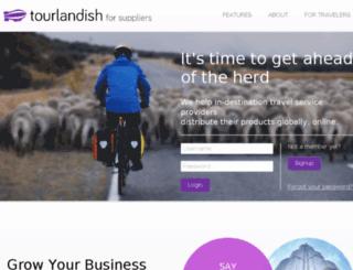 suppliers.tourlandish.com screenshot
