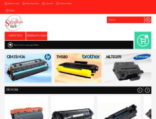 suppliesnet.com.br screenshot