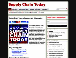 supplychaintoday.com screenshot
