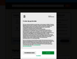 support.3.dk screenshot