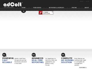 support.adcolt.com screenshot