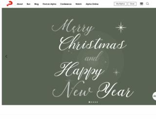 support.alphausa.org screenshot
