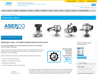 support.asepco.com screenshot