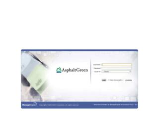 support.asphaltgreen.org screenshot