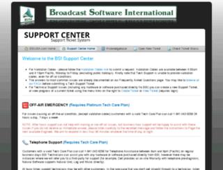 support.bsiusa.com screenshot