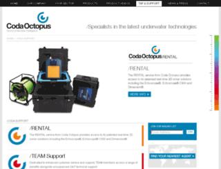 support.codaoctopus.com screenshot