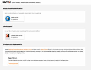 support.drawloop.com screenshot