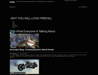 support.firefallthegame.com screenshot