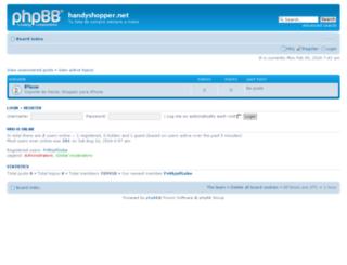 support.handyshopper.net screenshot