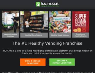support.healthyvending.com screenshot