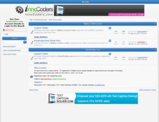 support.innocoders.com screenshot