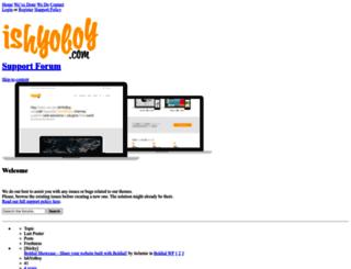 support.ishyoboy.com screenshot