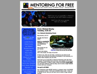 support.mentoringforfree.com screenshot