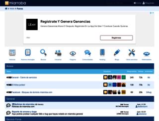 support.miarroba.com screenshot