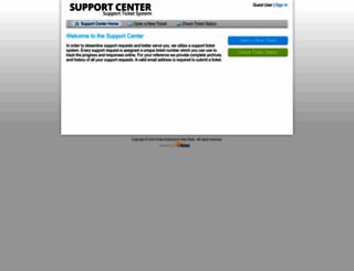 support.pulseextensions.com screenshot