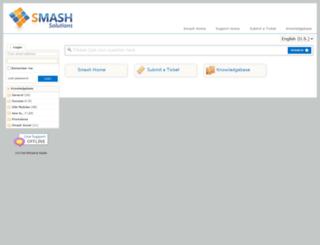support.smashsolutions.com screenshot