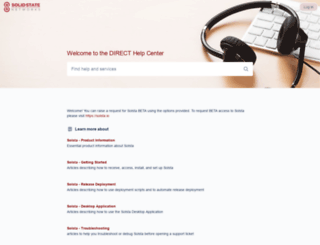 support.solidstatenetworks.com screenshot
