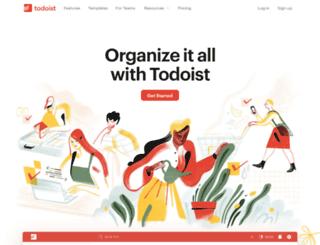 support.todoist.com screenshot