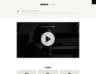 support.viewbook.com screenshot