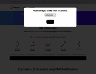 support.vocalocity.com screenshot