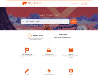 support.wattpad.com screenshot