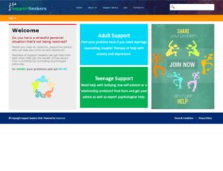 supportseekers.info screenshot