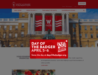 supportuw.org screenshot