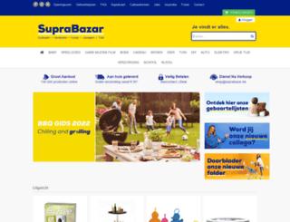 suprabazar.be screenshot