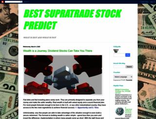 suprastock.blogspot.com screenshot