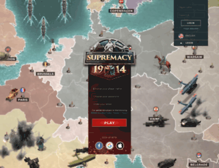 supremacy1914.nl screenshot